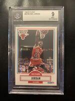 1990 - 1991 Fleer Michael Jordan Chicago Bulls #26 Basketball Card BGS 9 MINT