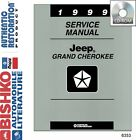 1999 Jeep Grand Cherokee Shop Service Repair Manual CD Engine Drivetrain Wiring