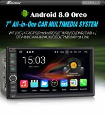 RADIO DVD 2 DIN UNIVERSAL ANDROID 8, GPS, BLUETOOTH, USB, SD,