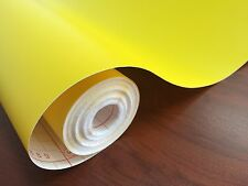 DC 200-0895 Matt Yellow Self Adhesive Contact 45cm x 1m German Made DIYDECOR