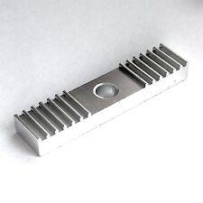 GT2 Zahnriemen Klammer Alu / Halter, Befestigung, Belt Clamp, CNC, Reprap, 3D