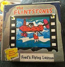 Los Picapiedra 1963 - 8mm película casera-Fred 's lección de vuelo