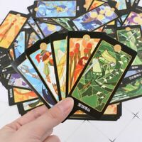Rider Tarot Cards With Colorful Box Mysterious Astrology Divination Board Game