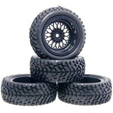 RC HSP 2080-7004 Wheel&Rally Rubber Tires Offset:6mm For 1:10 On-Road Rally Car