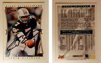 Craig Erickson Signed 1997 Score #113 Card Miami Dolphins Auto Autograph