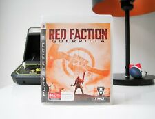 RED FACTION: GUERRILLA - PLAYSTATION 3   COMPLETE