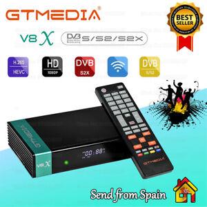Gtmedia V8X (New V8 Nova) DVB-S2 Satellite Receiver Full HD 1080P Built in Wifi