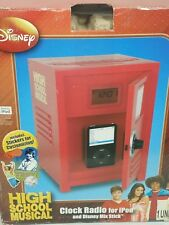 Disney High School Musical AM/FM Clock Radio w/LCD Display & iPod/MP3 Dock