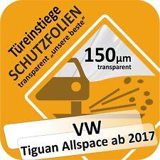 VW TIGUAN allspace PORTE PORTIÈRE Seuil voiture Protection Film de