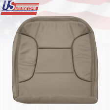 1992 - 1996 Ford Bronco Driver Bottom Vinyl Seat Cover Perforated Med. Mocha Tan