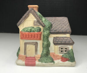 Miniature Old Town Village Christmas Village House Home C2