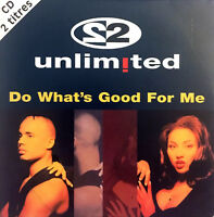 2 Unlimited CD Single Do What's Good For Me - France (EX/EX)