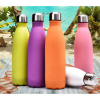 500ML Stainless Steel Vacuum Double Wall Insulated Flasks Bottle Thermos Water