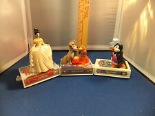 LOT OF 3 MCDONALDS DISNEY BOOK TRAIN LADY AND THE TRAMP