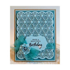Greeting Card Cutting dies Flower Card for Cards Stamps Scrapbooking Paper CHZ