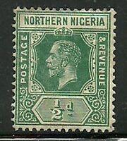Album Treasures Northern Nigeria Scott # 40  1/2p George V Mint Hinged