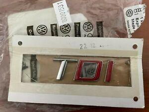 New Genuine TDI SKODA BADGE 3TO853687E-JZQ Fabia Octavia Superb