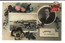 CPA-Carte Postale France - Amitiés de Cherbourg en 1912 - VM5704