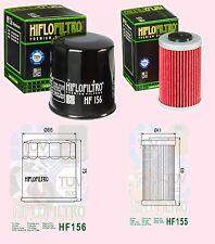 Hf155 1 Filtro De Aceite & hf156 2da Filtro De Aceite Ktm 400 Y 620 EGS, 620 Duke & Lsk