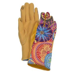 Laurel Burch Floral Suede Glove