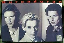 RARE DURAN DURAN BIG THING 1988 VINTAGE MUSIC RECORD STORE PROMO POSTER