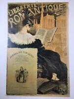 """Librairie Romantique Poster 36""""x 24"""" Art Nouveau Eugene Grasset Reproduction"""
