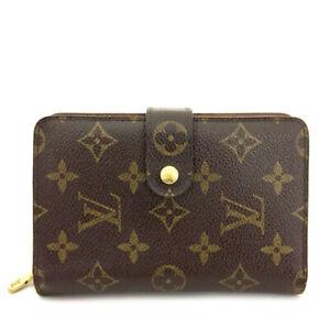 Louis Vuitton Monogram Porte Papier Zippe Bifold Wallet /81647