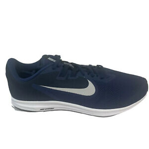 Men's Nike Downshifter 9 Wide 4E, Size 10.5, Midnight Navy/White, AR4946 400