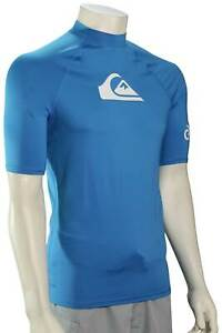 Quiksilver All Time SS Rash Guard - Blithe - New