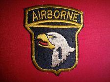 Vietnam War US Army Flash 1st Brigade 101st Airborne Division Beret Patch