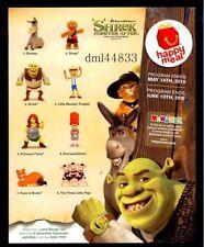 * MIP 2010 McDonalds Shrek Forever After Mint Set - Lot of 8