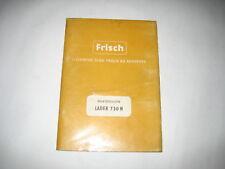 Ersatzteilliste Ersatzteilkatalog Frisch Lader 730 H f. Hanomag K 7 b LF