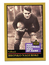 1991 ENOR Pro Football HOF #105 Bronko Nagurski Chicago Bears