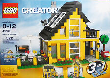 2008 -LEGO Creator- Beach House #4996 100% Complete MIB Set w/Box