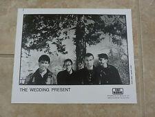The Wedding Present 90's 8x10 B&W Publicity Picture Promo Photo