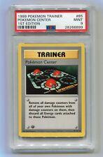 1999 Pokemon 1st Edition Base Set Shadowless Pokemon Center 85/102 PSA 9 MINT