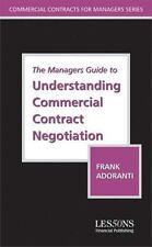 The Manager's Guide to Understanding Commercial Contract Negotiation-ExLibrary
