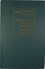 1965 Standard Catalogue of Canadian Coins Tokens and Paper Money 13th Edition