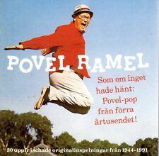 2 CD Povel Ramel 1944-1991 Best Of, schwedisch, Som Om Inget Hade Hänt