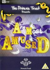 Princes Trust - WE ARE MOST AMUSED DVD