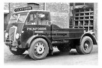 rp17729 - Pickfords Foden 40 Ton Tractor no 3065 EXK 955 - photograph 6x4