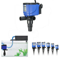 3-in-1 Aquarium Fish Tank Powerhead Wave Purifier Filter Oxygen Water Pump