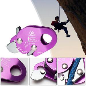 Rope Grab Ascender 22KN Riser Adjustable for Rock Climbing Tree Arborist