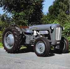 Signe en métal vieux Tracteur Ferguson FE 35 1957 A4 A2 disponibles A4 12x8 aluminium