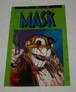 The MASK # 1 DARK HORSE COMICS 1991 (of MINI SERIES) JOHN ARCUDI DOUG MAHNKE ART