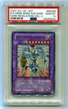 2007 Yu-Gi-Oh Elemental Hero Shining Flare Wingman DR04-EN096 Ultra Rare PSA 10