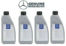 Genuine Set of 4 Liters Power Steering Fluid 001989240313 For Mercedes W201 W202