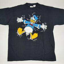 VTG Disney Mickey Co Men's Size XL T Shirt Single Stitch Donald Duck Thunder NOS