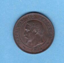 (BR.56) 10 CENTIMES NAPOLÉON III 1854 A (TTB+)