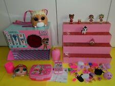 grande lotto LOL surprise salvadanaio pet doll casa espositore store shop expo